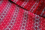 Ткань с орнаментом вышивки