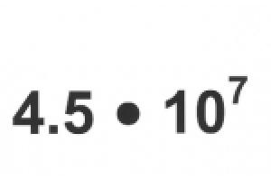 10 hoch -1